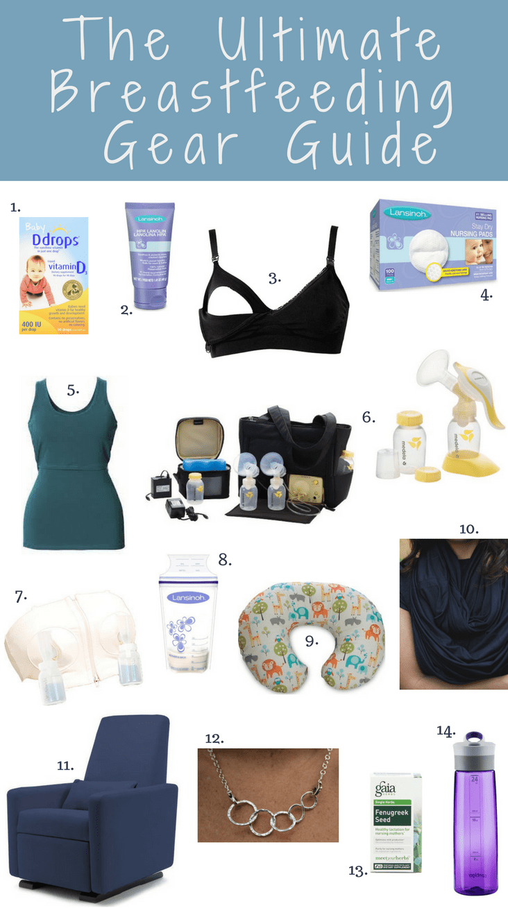 the-ultimate-breastfeeding-gear and supplies-guide